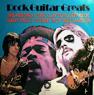 V/A - Rock Guitar Greats (LP) (VG/G-)